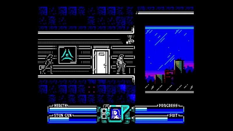 POWER BLADE Delta's shadow ZX Spectrum 128k Jacqueline level