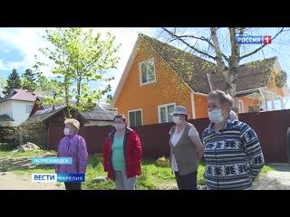 Жители Петрозаводска остались без водопровода 2020 Карелия Соломенное