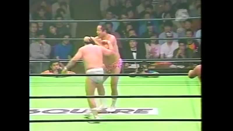2000.10.08 - Rusher KimuraMitsuo MomotaTakeshi Morishima vs. Haruka EigenTamon HondaJun Izumida