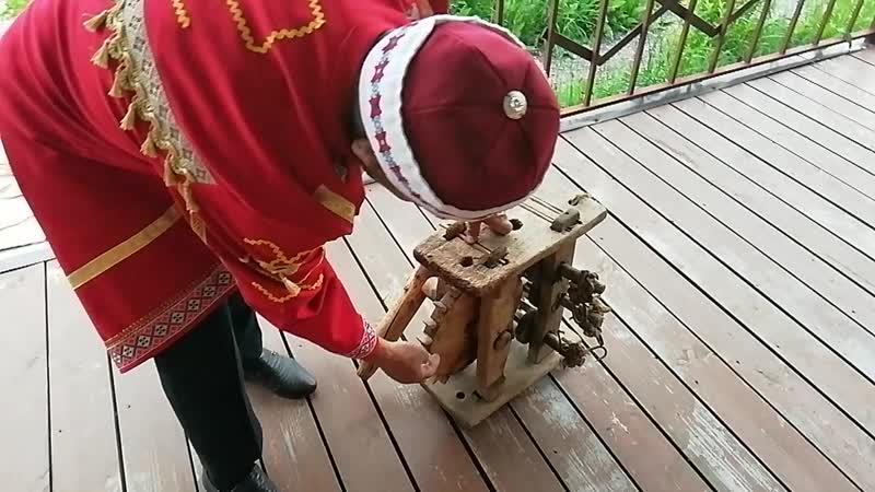 Приспособление для плетения каната в д Малый Сундырь таванен