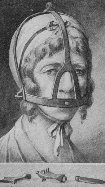 Маска позора В XVI веке в Британии появилась, а потом нашла широкое распространение маска позора, приспособление для наказания за клевету, сплетни, оскорбления, ругань, бунтарские изречения,