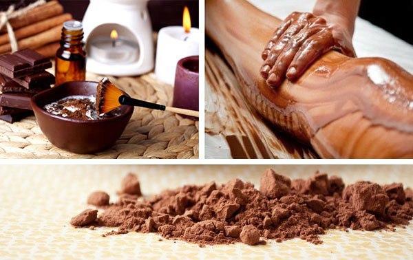 Шоколадное обертывание дома