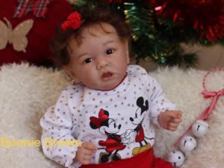 Видеообзор на куколку реборн Алина (Saskia by Bonnie Brown)