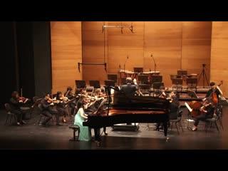 J. S. Bach. Keyboard Concerto No 2 in D major BWV 1053 - Sakura Ohara (1280p)