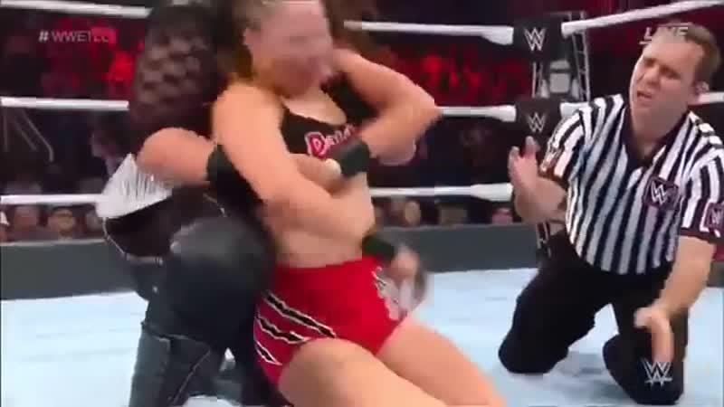 Ronda Rousey Vs Nia Jax Raw Womens Championship - TLC 2018