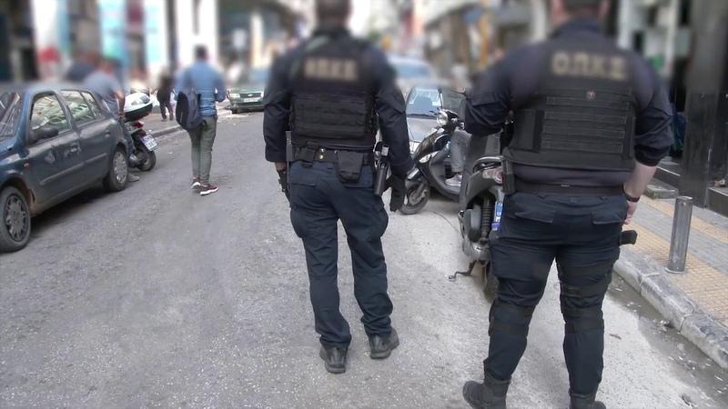 Ειδική επιχειρησιακή δράση στο κέντρο της Αθήνας για την καταπολέμηση του παρεμπορίου