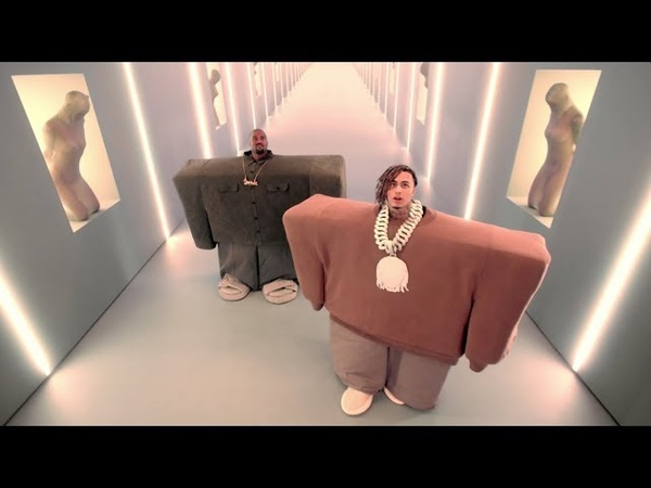 Kanye West Lil Pump ft Adele Givens I Love It Official Music Video