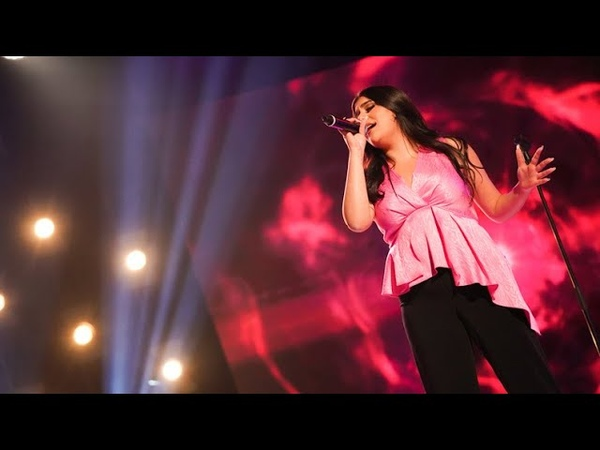 Tara Naderpour sjunger Love on the brain av Rihanna i Idols kvalvecka 2020 - Idol Sverige (TV4)