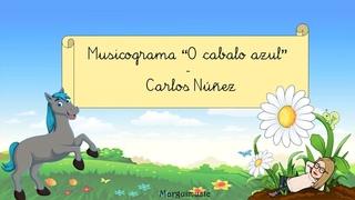 """Musicograma """"O cabalo azul"""" - Carlos Núñez"""