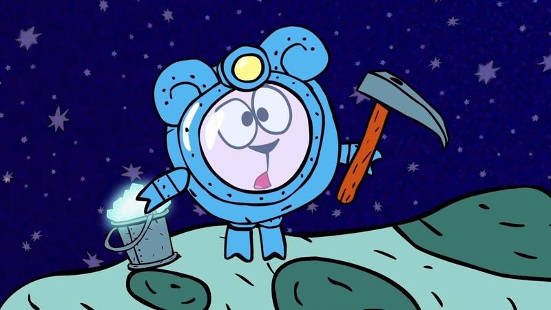 ❗❓Наука для детей Пояс астероидов и добыча ресурсов Смешарики Пинкод Карамболь