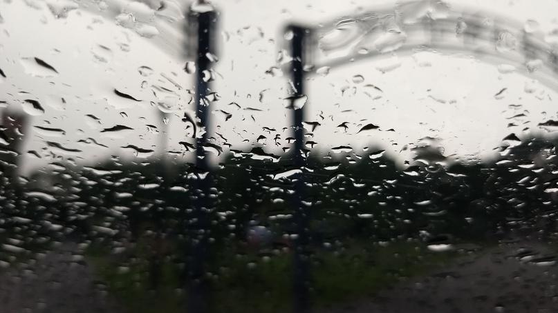 Вид из окна машины на месте съёмки