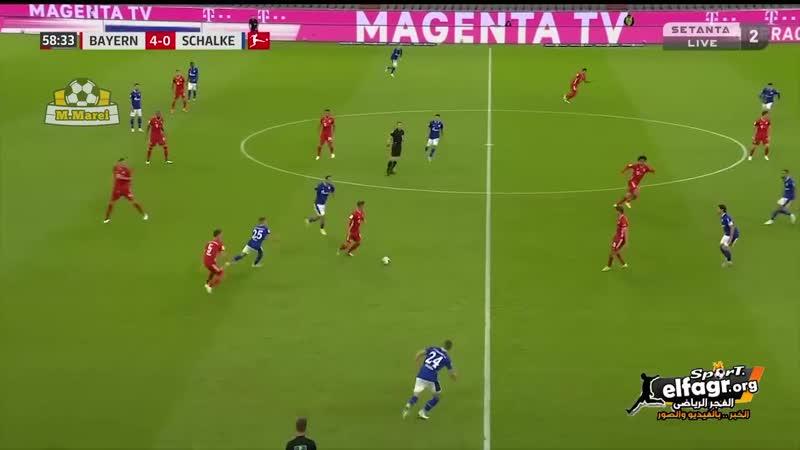 أهداف مباراة - بايرن ميونخ 8 × 0 شالكه