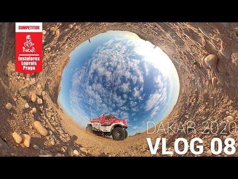 InstaForex Loprais Team DAKAR 2020 Stage 4 VLOG 08