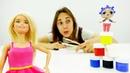 Барби делает Маринетт из куколки ЛОЛ - Видео для девочек