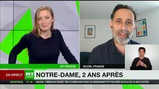 Emmanuel Macron sur le chantier de Notre-Dame : «Chaque jour un nouveau déguisement !»