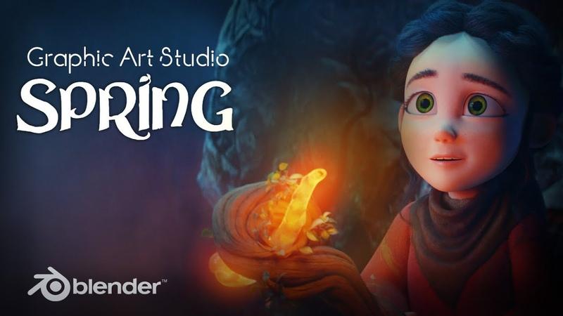 Spring Blender Open Movie 2020 The Best Animation