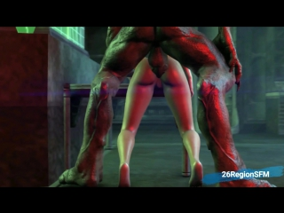 3d porn - samus and unknown planet 5 (metroid sex with monster, anal)