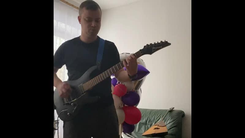 Guitar mini cover Billy Talent Saint Veronika