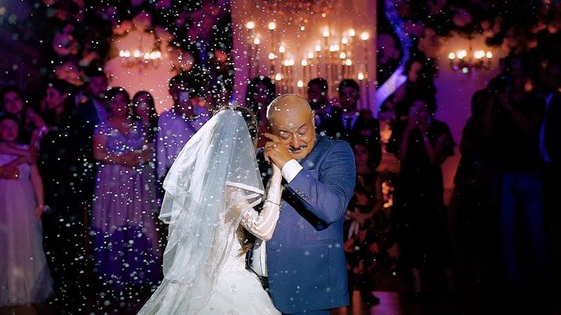 Очень трогательный танец Папы с дочкой