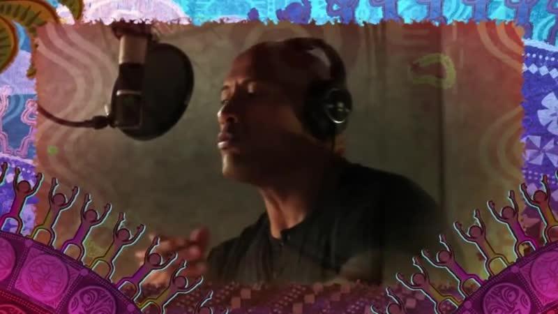Дуэйн Джонсон поёт в мультфильме Моана