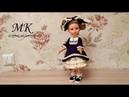 Платье в стиле лоли для куклы Паола Рейна, мастер-класс