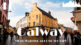Galway Ireland 🇮🇪 Walking in Europe in 4K Dji Osmo Pocket