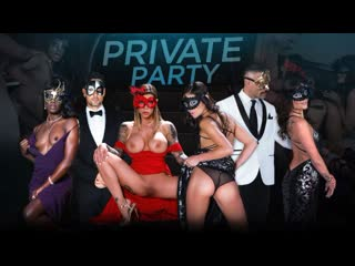 Частная Вечеринка с участием  Adria Rae, Emily Willis, Karma Rx и Ana Foxxx \ Private Party (2019)