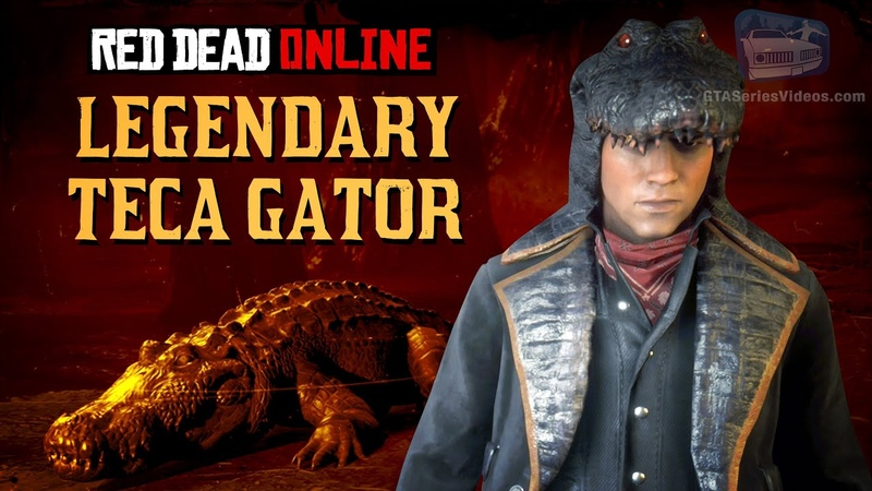 Red Dead Online Legendary Teca Gator Location Animal Field Guide