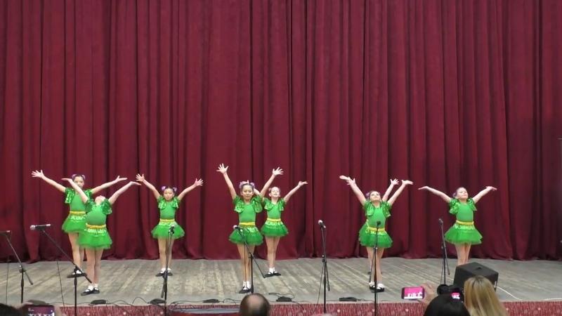 Танец лягушат Детский танцевальный ансамбль ДК Академия