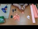 Мастер-класс по созданию букета из гофры и конфет.