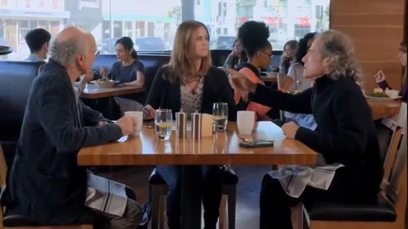 Escena Larry, Richard Lewis y novia - Cielo - Larry David 9x06