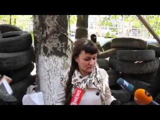 Ирма Крат атаманша женской сотни сожалеет о выходе на Майдан