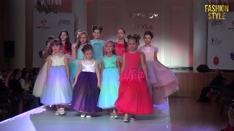 Модели агентства Linda на фестивале моды FASHION STYLE KIDS