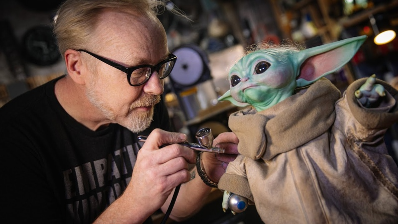 Adam Savage's One Day Builds Baby Yoda Mod and Repaint