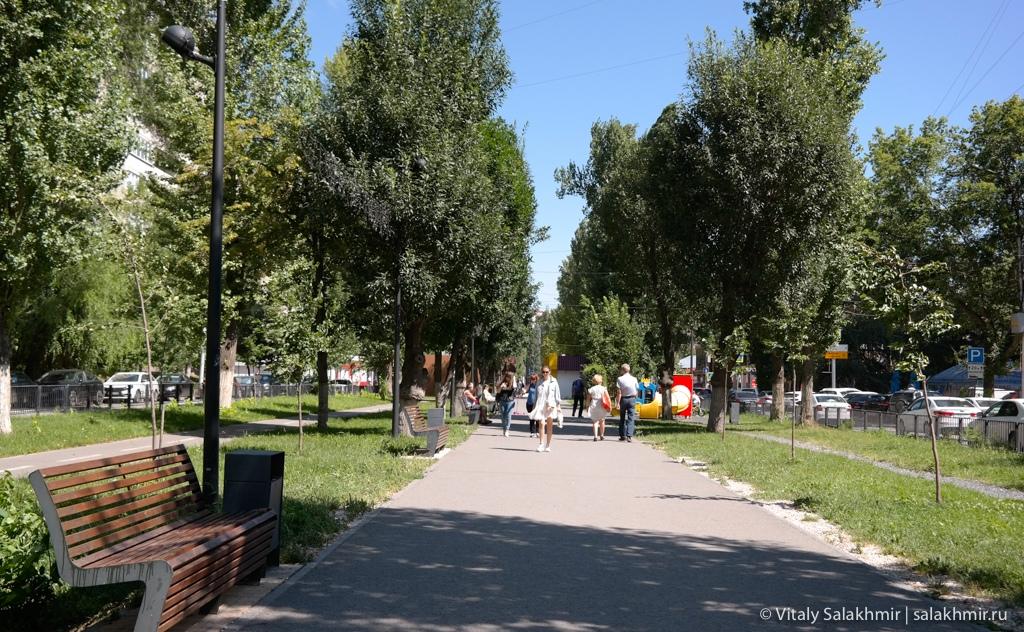 Улица Рахова, Саратов 2020