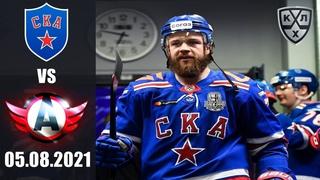 СКА - АВТОМОБИЛИСТ ()/ SOCHI HOCKEY OPEN 2021/ KHL В NHL 20 ОБЗОР МАТЧА