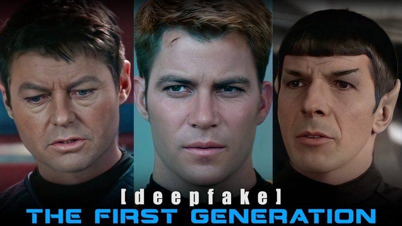Star Trek The First Generation deepfake