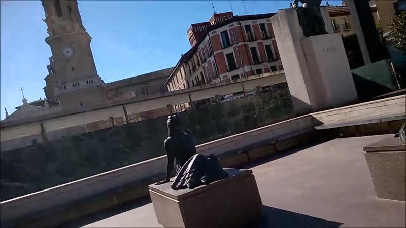 Памятник Франсиско Гойе в Сарагосе