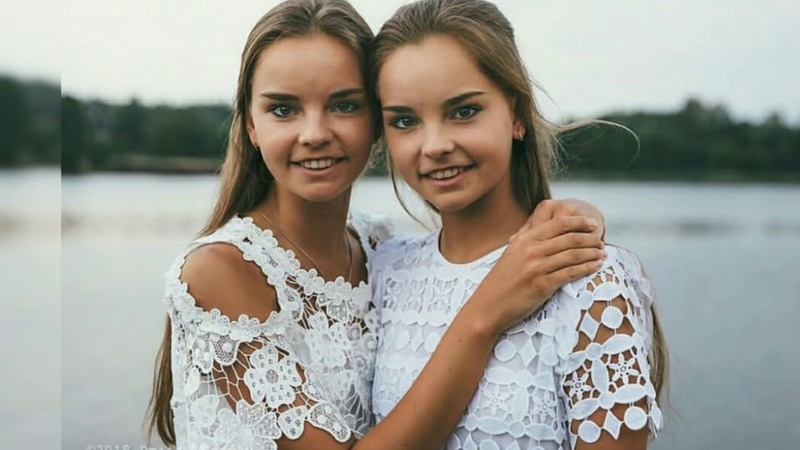 Дина и Арина Аверины В жизни и спорте