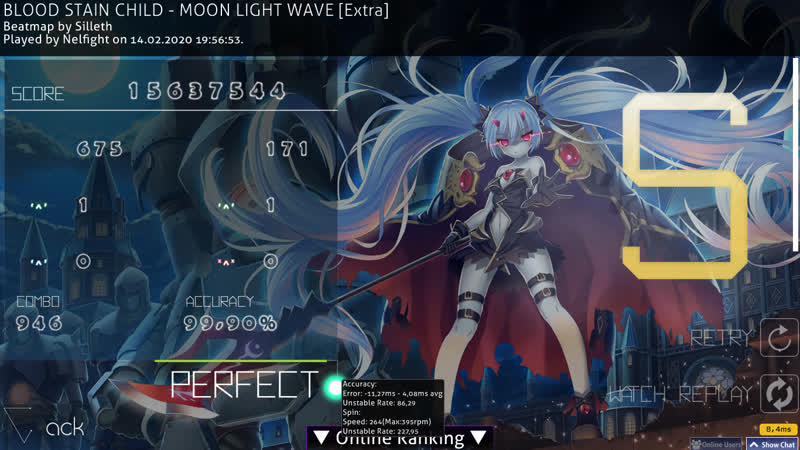 BLOOD STAIN CHILD - MOON LIGHT WAVE [Extra] FC