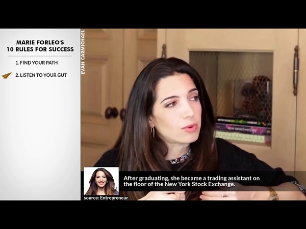 Marie Forleos Top 10 Rules For Success Rule 2