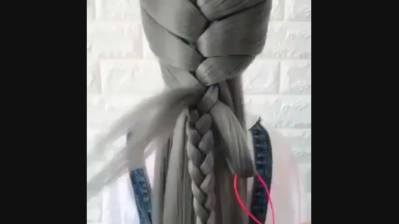 Даже на три волосины можно такую сделать