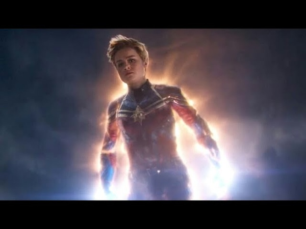 Captain Marvel Arrives - AVENGERS:ENDGAME (2019) 4K Movie Clip