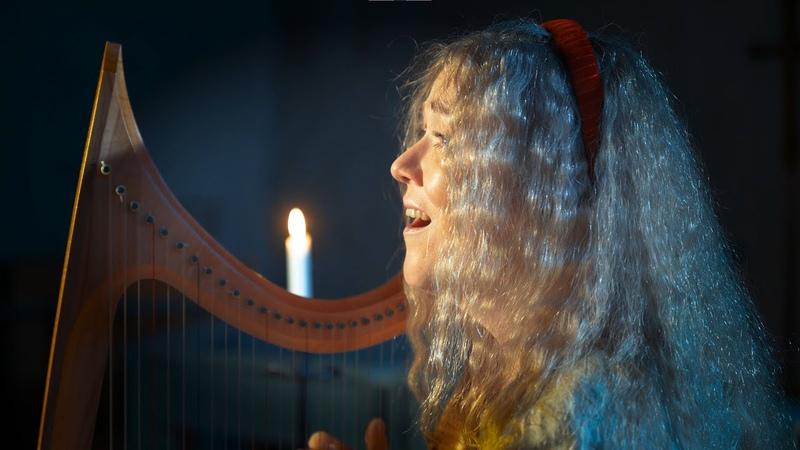 Martim Codax Ondas do mar de Vigo Anneliina Rif voice and gothic harp