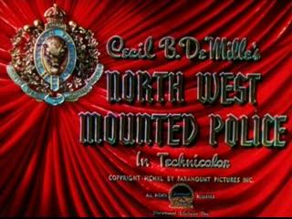 Северо-западная конная полиция / North West Mounted Police 1940