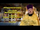 Воскресная проповедь протоиерея Димитрия Цыплакова в неделю Торжества Православия.
