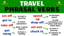 Travel Phrasal Verbs in English
