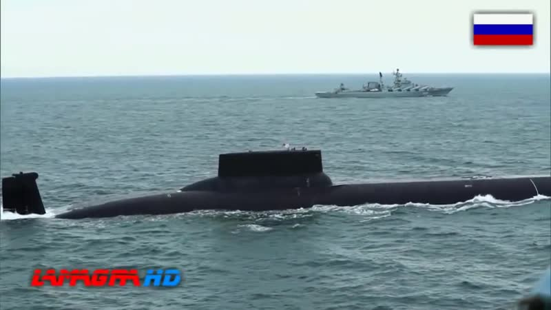 The Largest Submarine In The World Typhoon Class Submarine Project 941 Akula