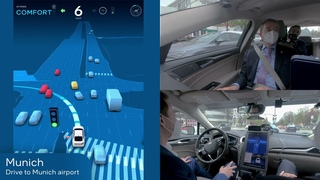 Intel CEO Rides in the Mobileye Autonomous Vehicle