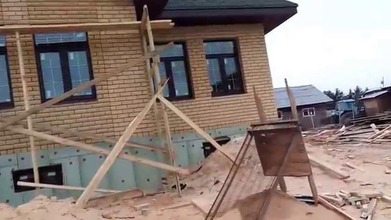 Обустроенный кирпичный одноэтажный дом Кирпичный стандарт 220